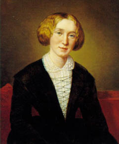 George Eliot - check out that skull!